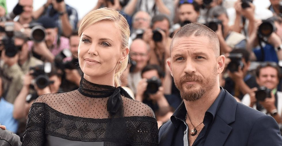 For years, actor Tom Hardy has supported awesome women in action movies. Thanks, Mad Max.