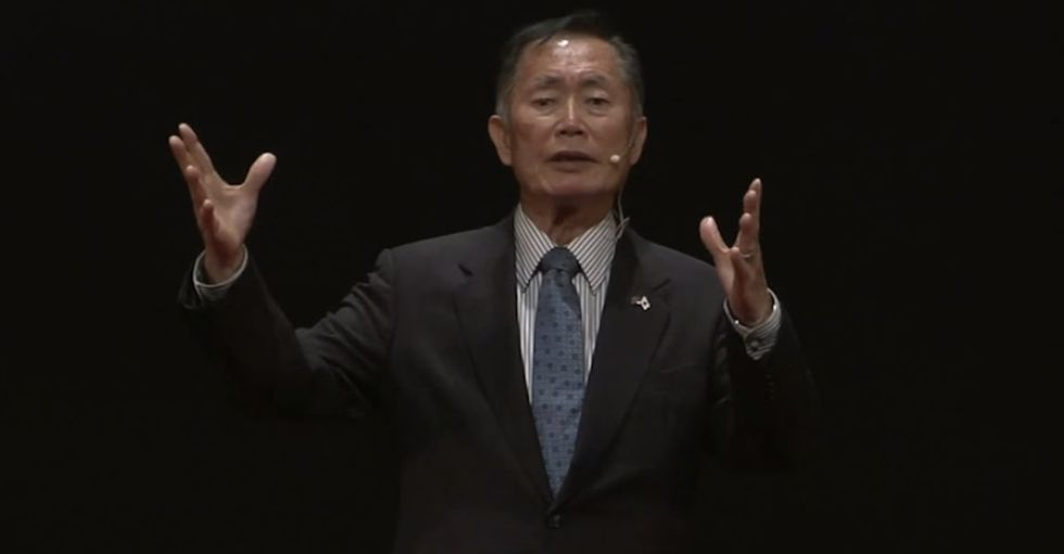 What Being Imprisoned Taught George Takei About America