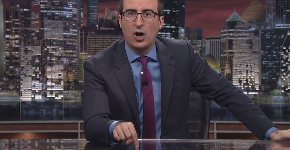 John Oliver Goes Off On An Epic, Fact-Checked, Mic-Dropping Rant For 13 Minutes That You Need To See
