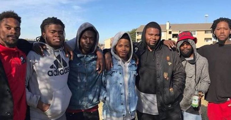 These young men are being hailed as heroes for saving six lives in an apartment fire.