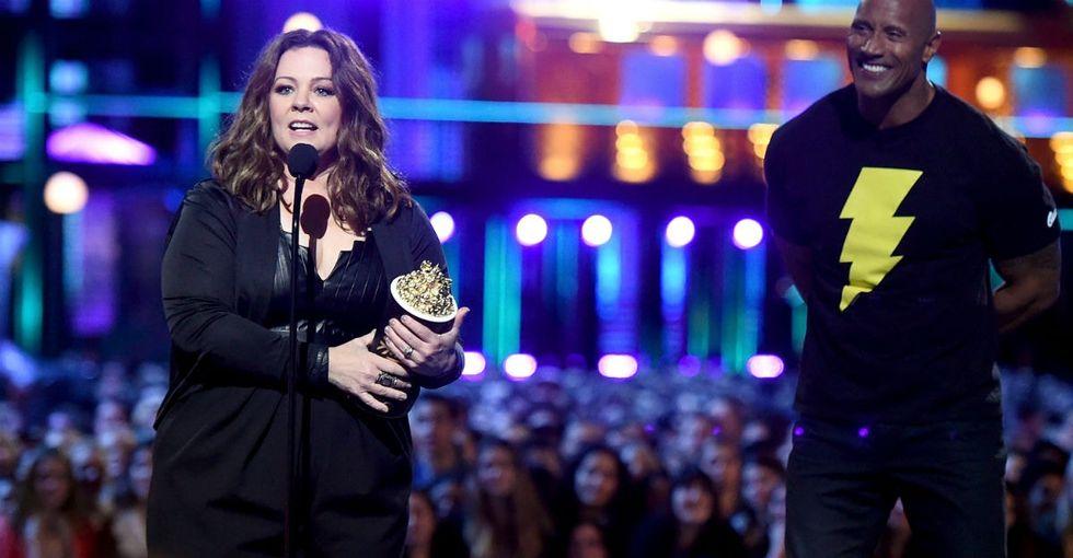 Melissa McCarthy made history at the 2016 MTV Movie Awards.