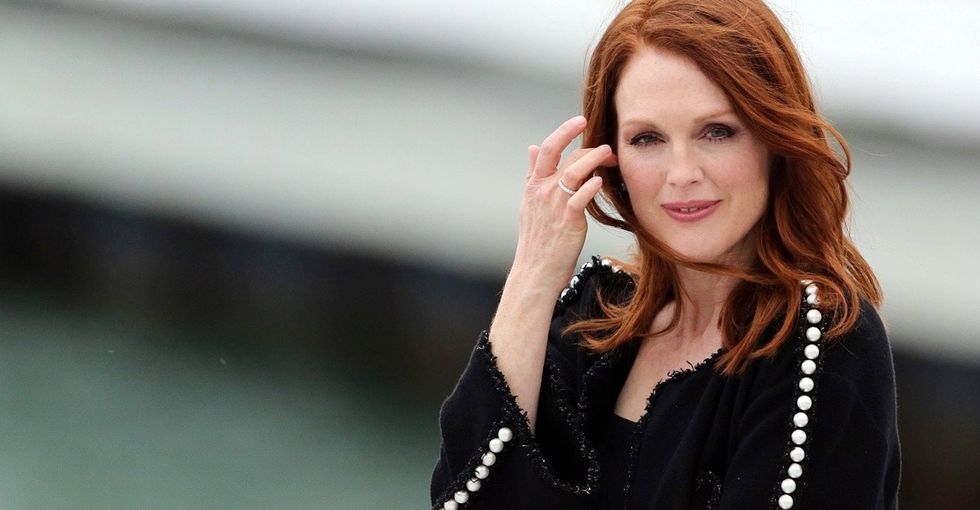 Here's why Julianne Moore launched a petition asking her former high school to change its name.