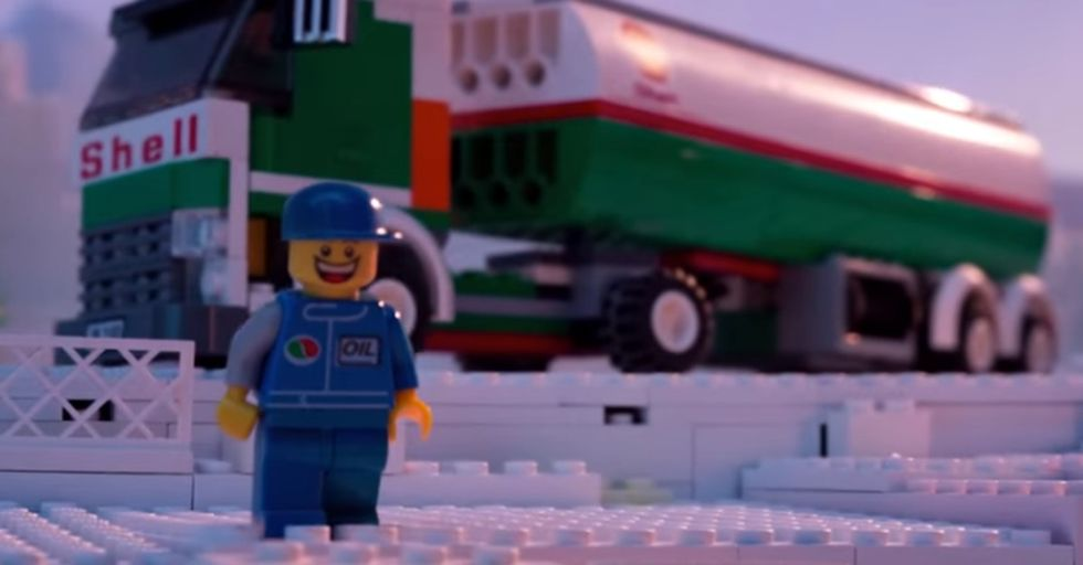 These 2 Minutes Of Lego People Frozen In Motion Drilled Right Into My Heart. And Struck Anger, Too.