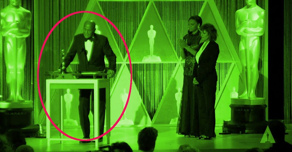 A Celebrity Uses His Oscar Acceptance Speech To Shame The Movie Industry. It's Amazing.