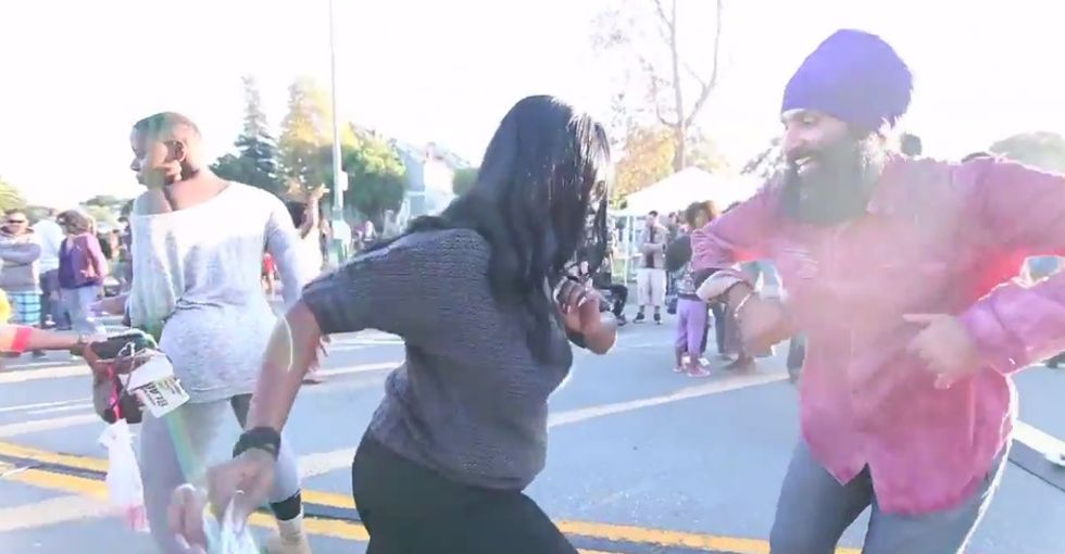 They Got Tired Of Hearing Bad News, So They Decided To Dance and Celebrate The Good News