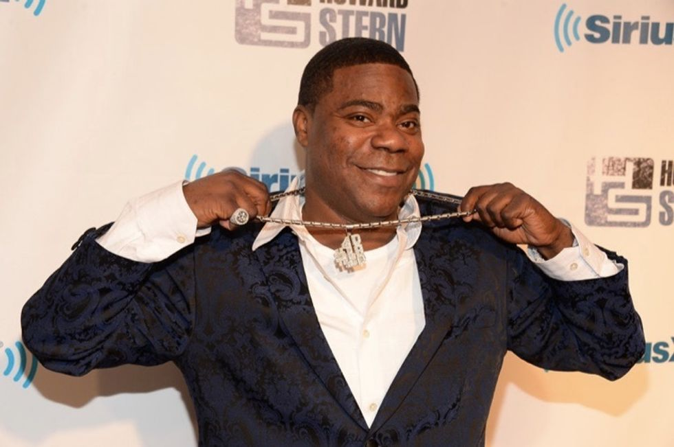 Tracy Morgan thanks the people who saved his life in an incredibly sweet way.