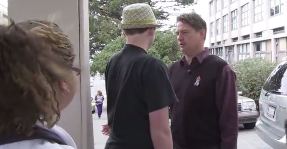 There's more than one way to handle a bully. Watch one teacher deal with it beautifully.