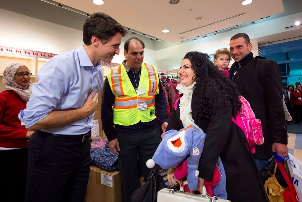Support for Syrian refugees in Canada is overwhelming, nonpartisan, and inspiring.