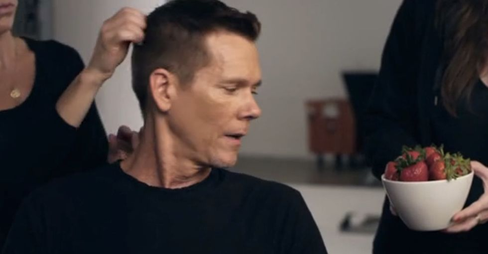 Watch Kevin Bacon Talk Like He's Better Than You, Be Rude To People, And Then Explain Why. Nicely.