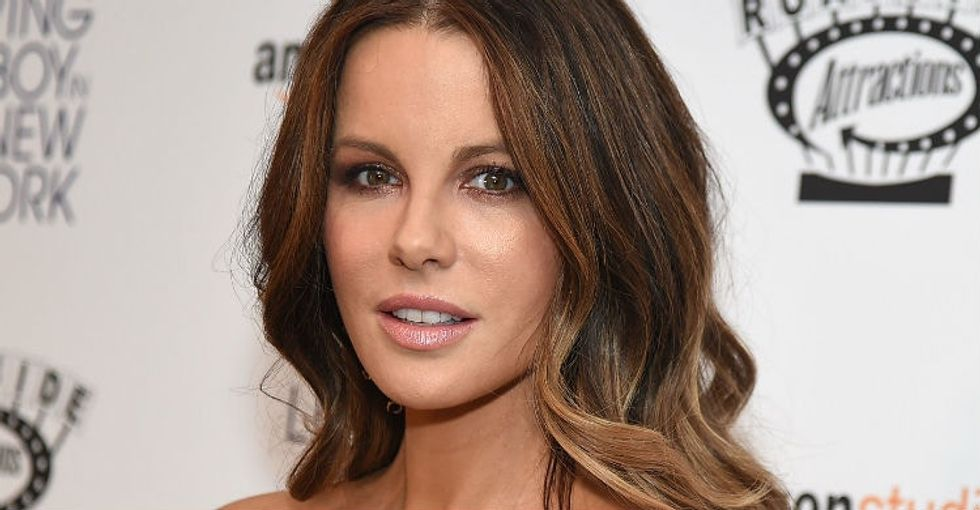 Kate Beckinsale made a greatpoint about having a young male lover on-screen.