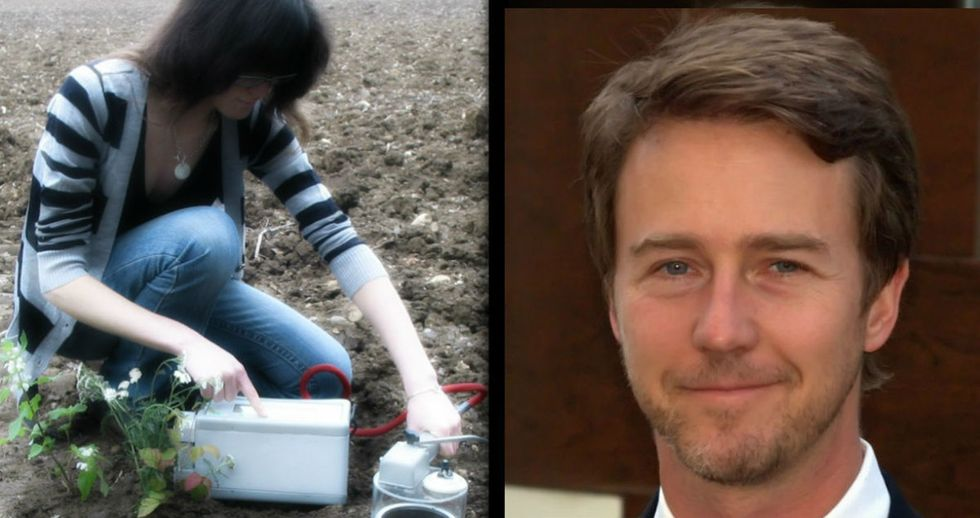 They Stuck A Microphone In The Soil, And This Is What They Heard (With Edward Norton's Help)