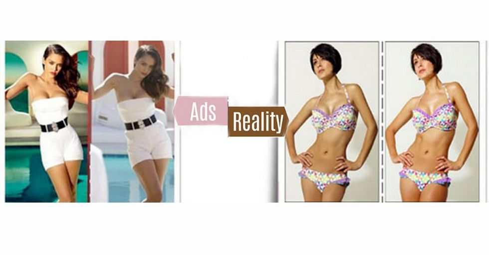 It's Not Just The Bikini Bodies In Magazine Ads That Are Fake. Practically Everything Is.