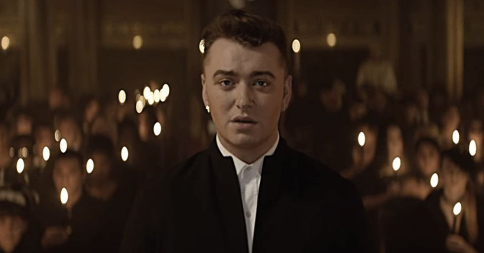 A voice as angelic as Sam Smith's is rare, but his wedding happening in this place is even rarer.