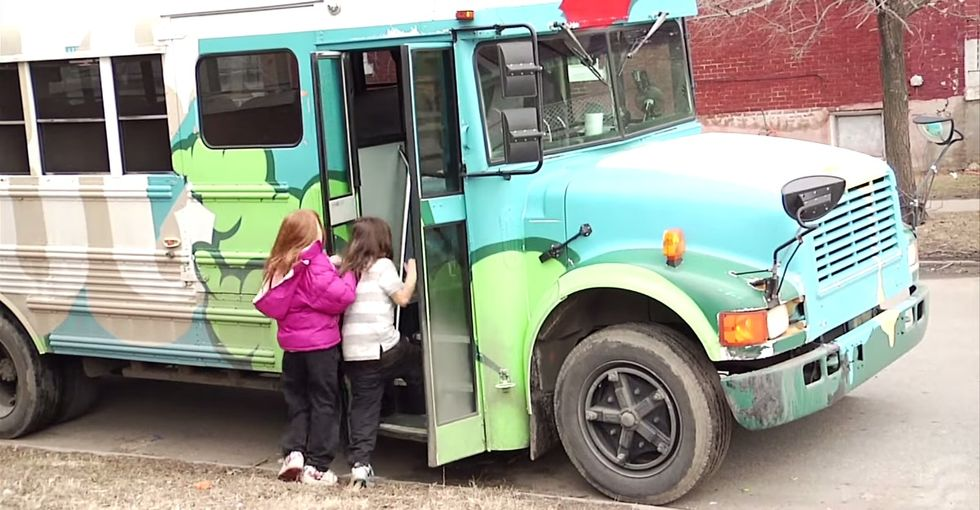 These Kids Ride In A Real-Life Magic School Bus