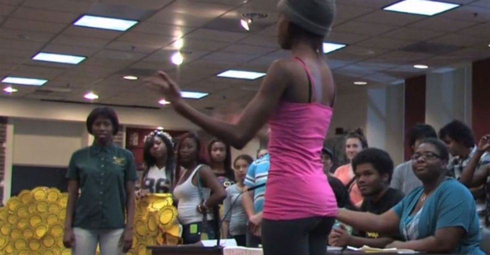 These 2 Girls Surprised Everyone And Rocked The School Board Meeting (And The Mic)