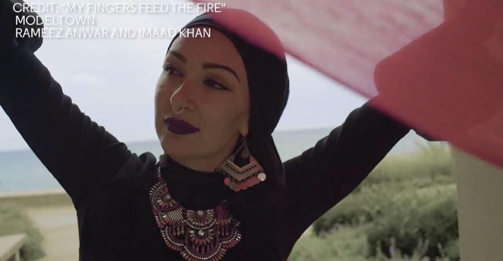 Watch one woman use hip-hop and dance to dispel myths about Muslims.
