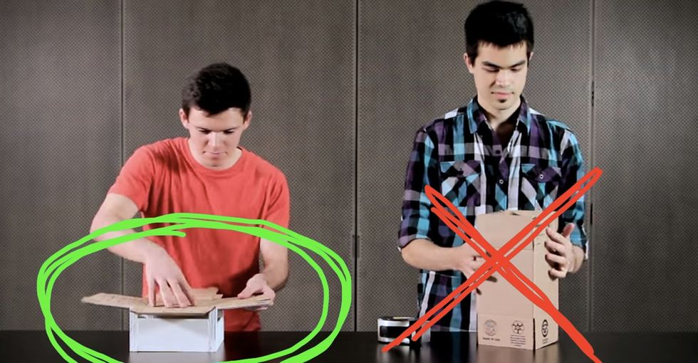 2 College Kids Kind Of Just Forever Changed The Way I Look At Boxes. Yep, Boxes.