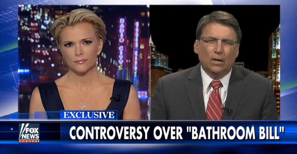 North Carolina's anti-trans bathroom law is ridiculous, and this interview proves it.