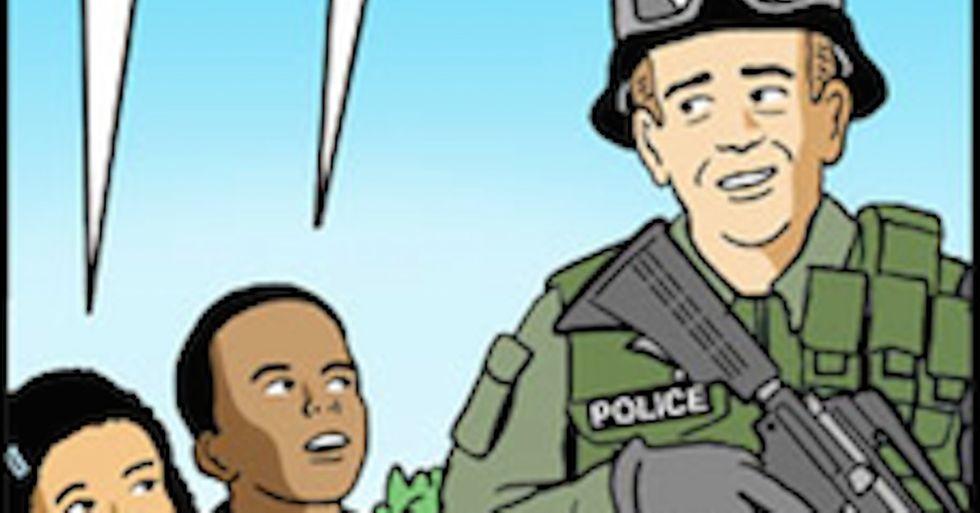 Sometimes, It Takes A Cartoon To Understand Things Like Ferguson
