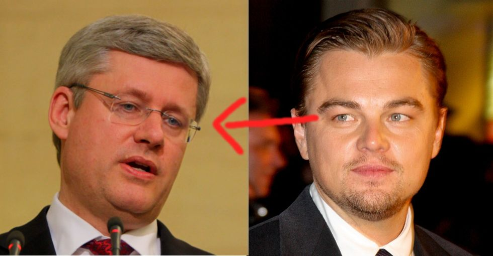 No, You're Not Seeing Things. A World Leader 'Just Got Served' ... By Leo DiCaprio.