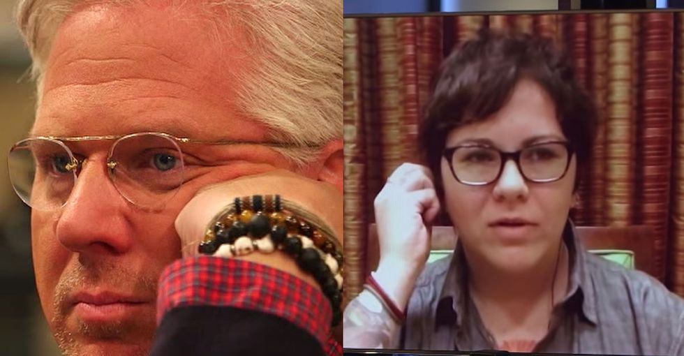 Glenn Beck Asks Her A Strange Question. If You've Been There, You Might Have To Hold Back Tears Too.