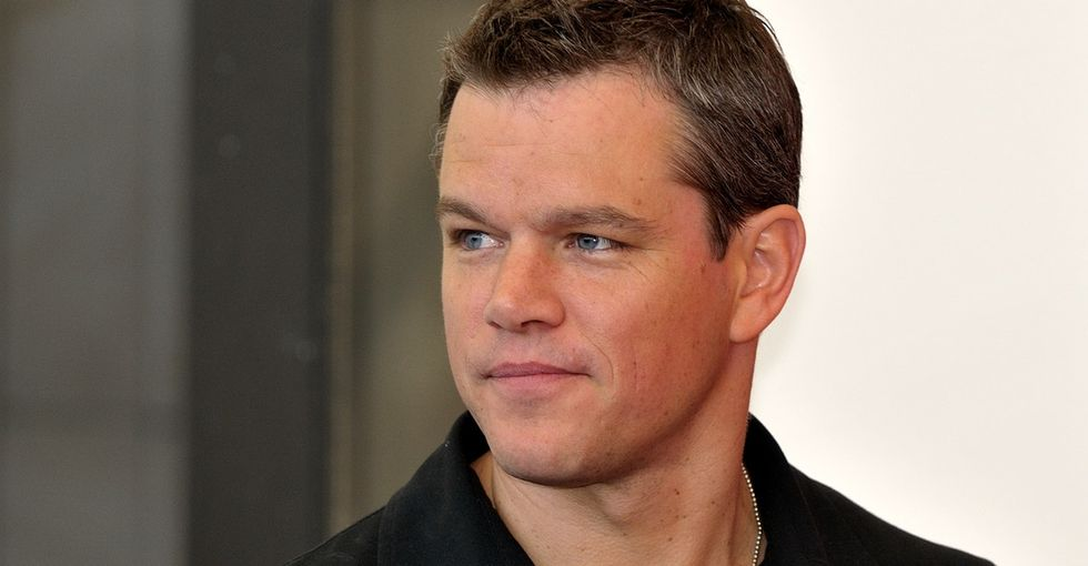 The Ice Bucket Challenge Posed A Problem For Matt Damon. Here's What He Did About It.
