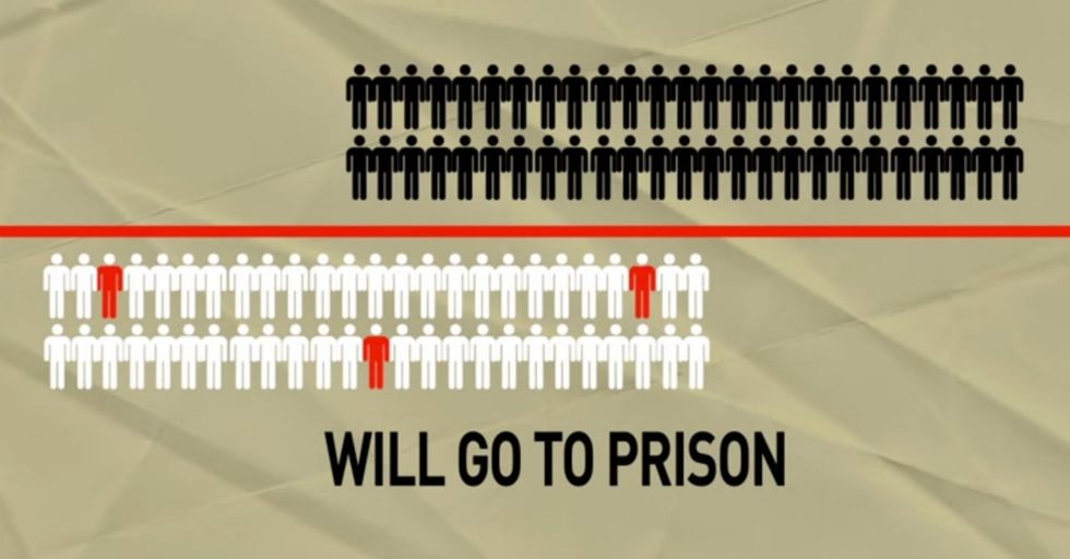 OK, There Are A Lot Of Black Men In Prison. But There's A Reason For That.