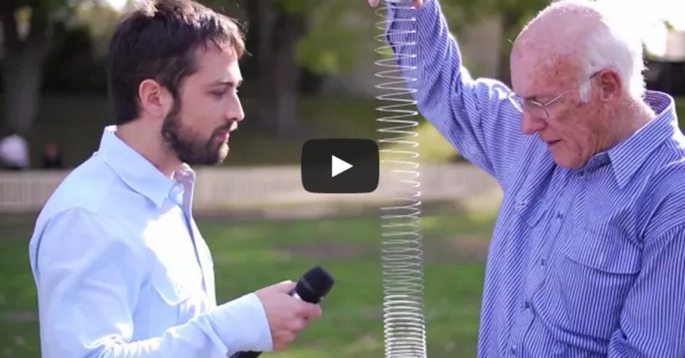 A Slinky, 2 Scientists, And A Slow-Motion Camera Are Going To Show You Something You Won't Believe Is Possible
