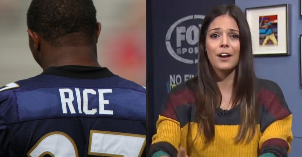 She Was Afraid To Speak Out About Sexism In The NFL. Key Word: Was.