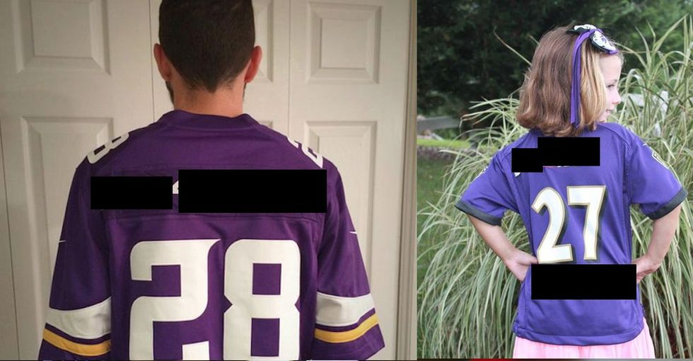 They Both Wore Football Jerseys With 2 Very Important Changes