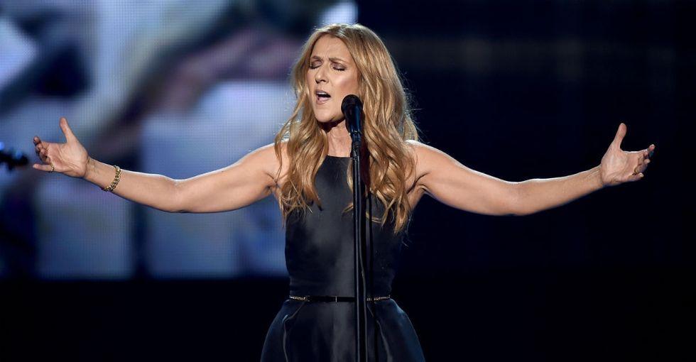 Watch Celine Dion's tear-jerking tribute to the Paris terror victims.