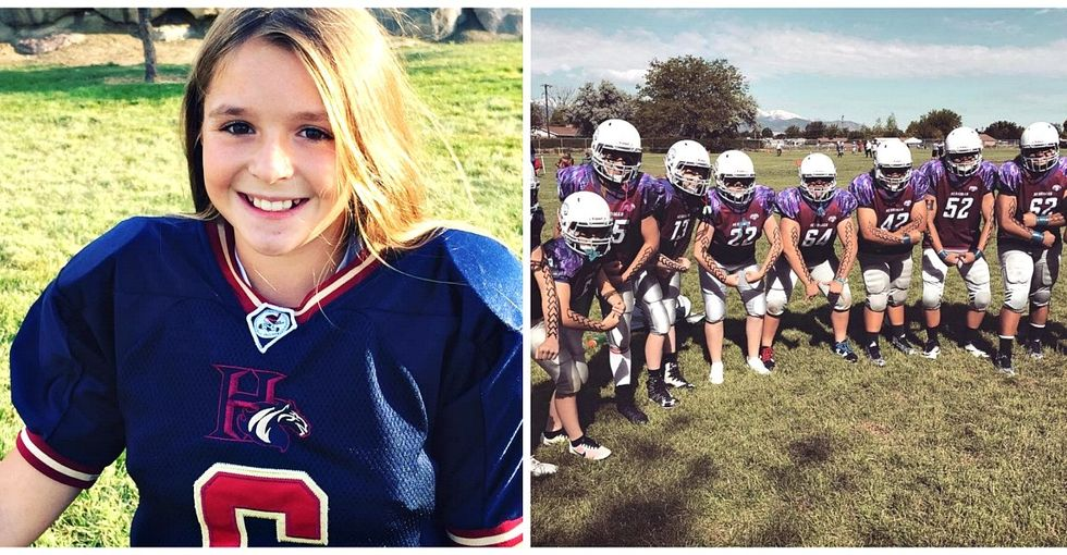 How this stigma-defying young woman started the first all-girls tackle football league.