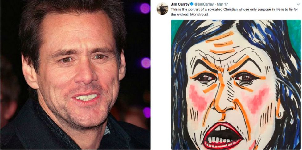 The outrage over Jim Carrey's tweet is sparking a debate about body-shaming.