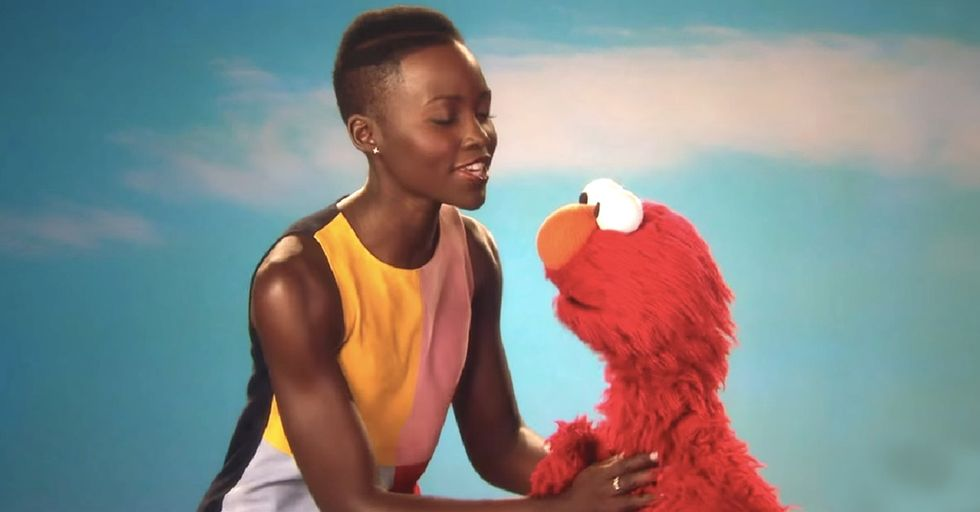 Watch Elmo Demonstrate The Right Way To Point Out Someone's Skin Color