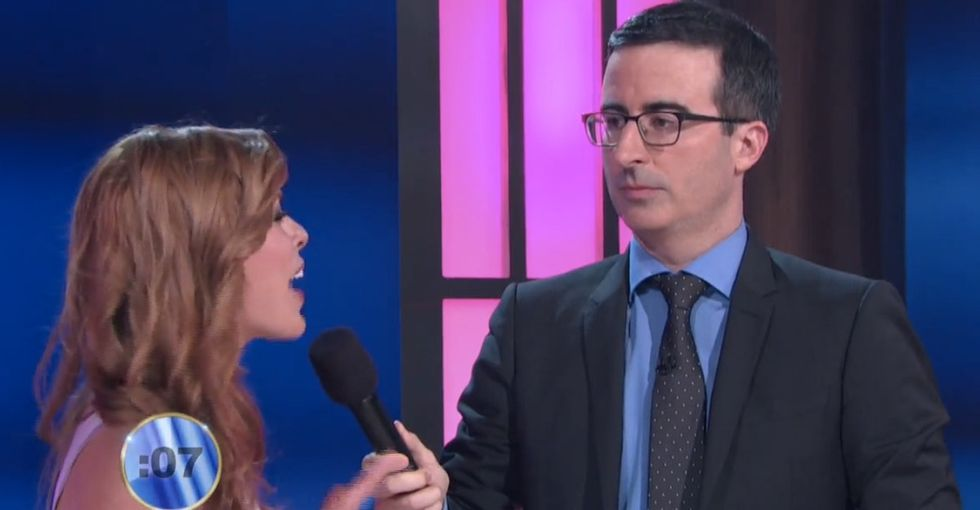 John Oliver expected to catch Miss America in a lie, but what he found was kinda worse.