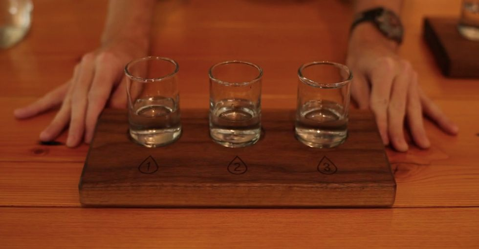 This bar serves only tap water: It sounds like a joke but it's actually awesome.