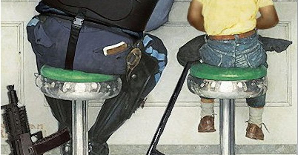 What If Norman Rockwell Went To Ferguson?