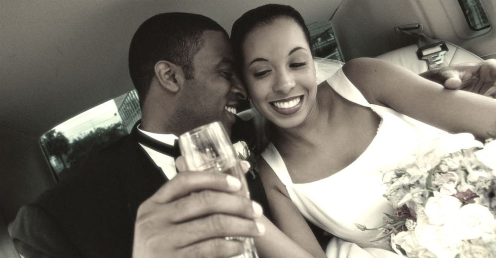 Hmmm, I'm Not Sure Why This Myth About Black Couples Exists