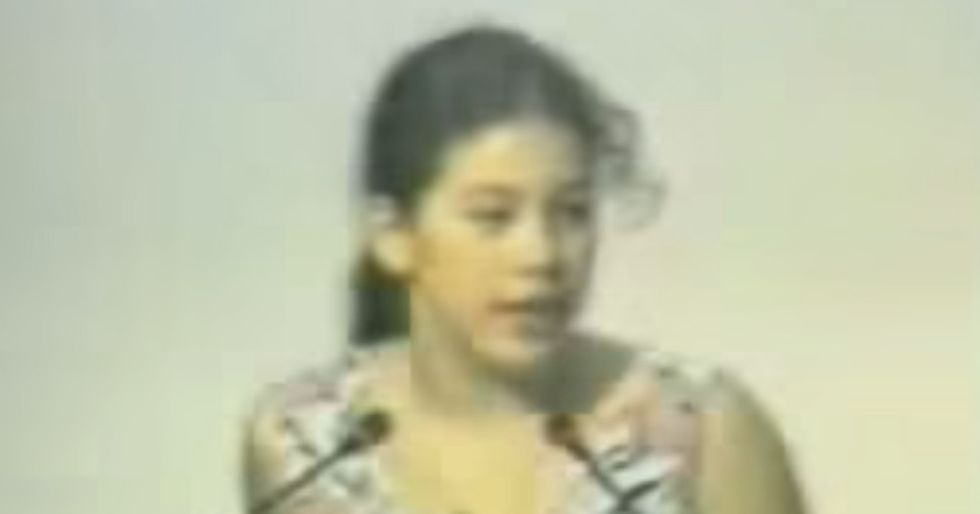 In 1992, A Little Girl Stunned People From Around The World By Repeating 'I Am Only A Child'