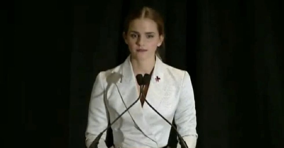 Her Voice Might Tremble, But Emma Watson's Message Is Strong And Clear