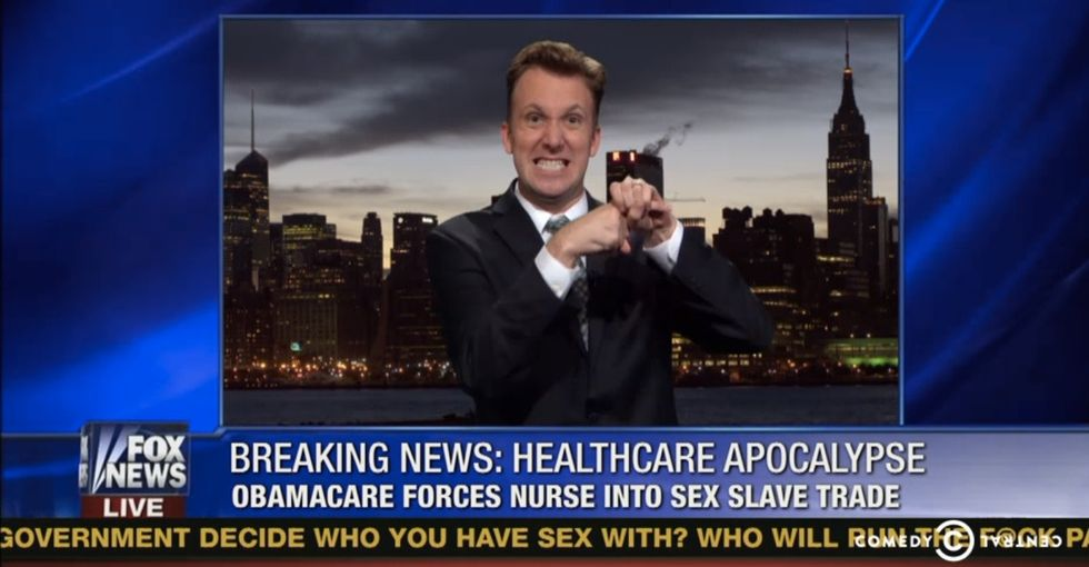 'The Daily Show' Tries To Report On Obamacare As If It Were Fox News. This Is The Result.