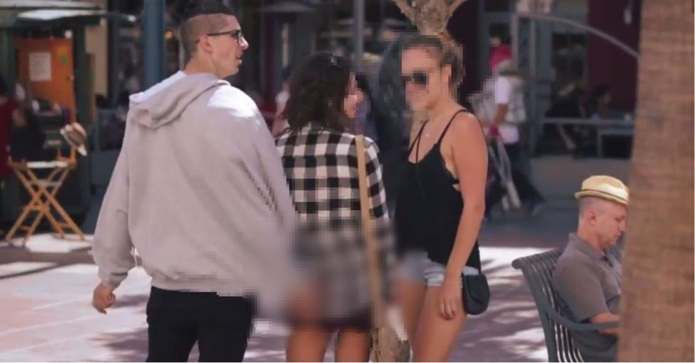 A Guy Thought It'd Be Funny To Assault Women On The Street. Another Guy Took Issue.