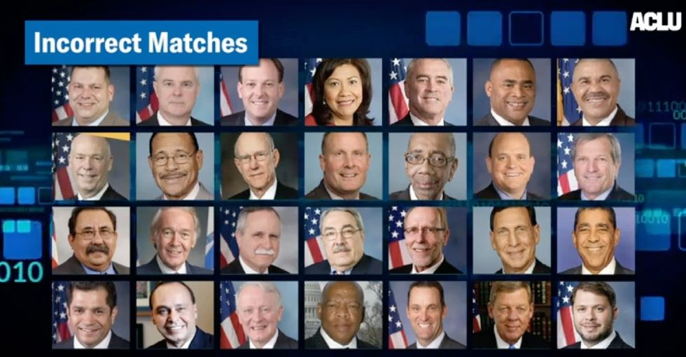 Did the ACLU discover that 28 members of Congress were criminals? Not exactly.