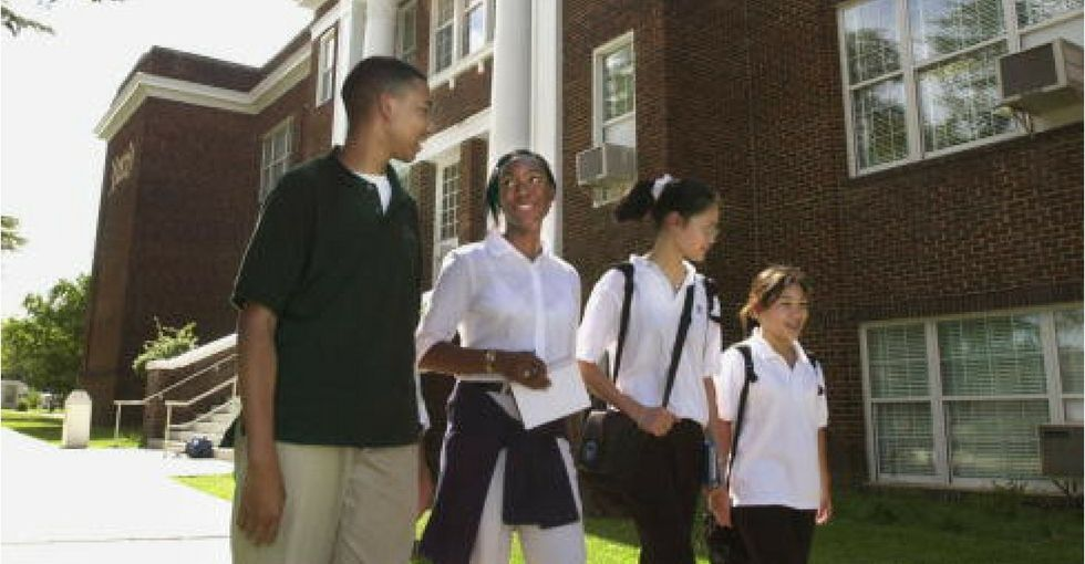 Public versus private school — a study found just one factor can make all the difference.