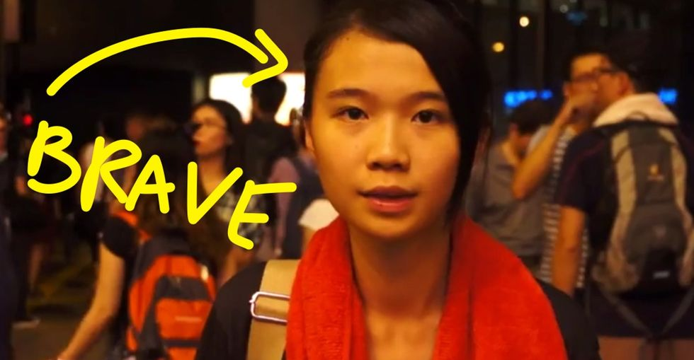 Desperate plea from Hong Kong citizen: It's time to give a f***, people