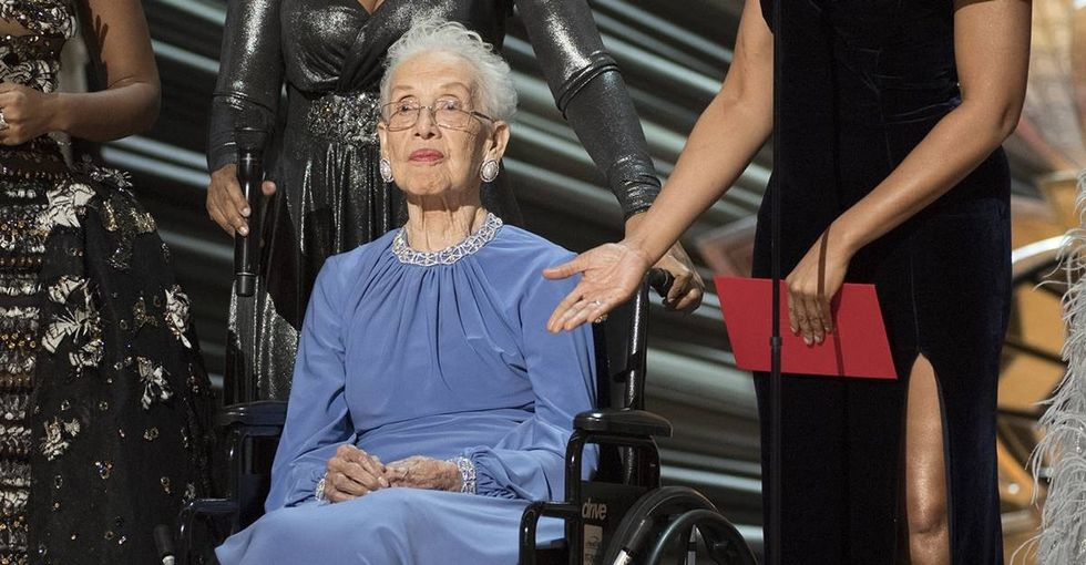 NASA renamed a facility in honor of Katherine Johnson, the 100-year-old woman who helped put a man on the Moon.