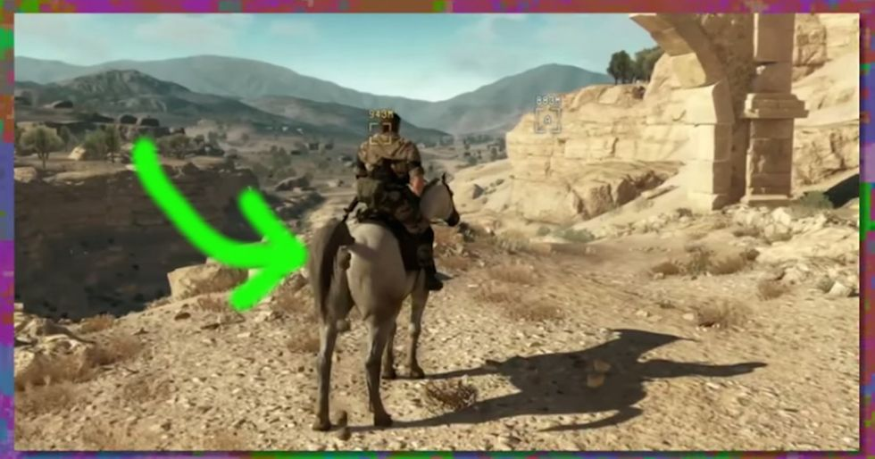 If they can make a horse ... umm, 'do things' in video games, why can't they make games accessible?