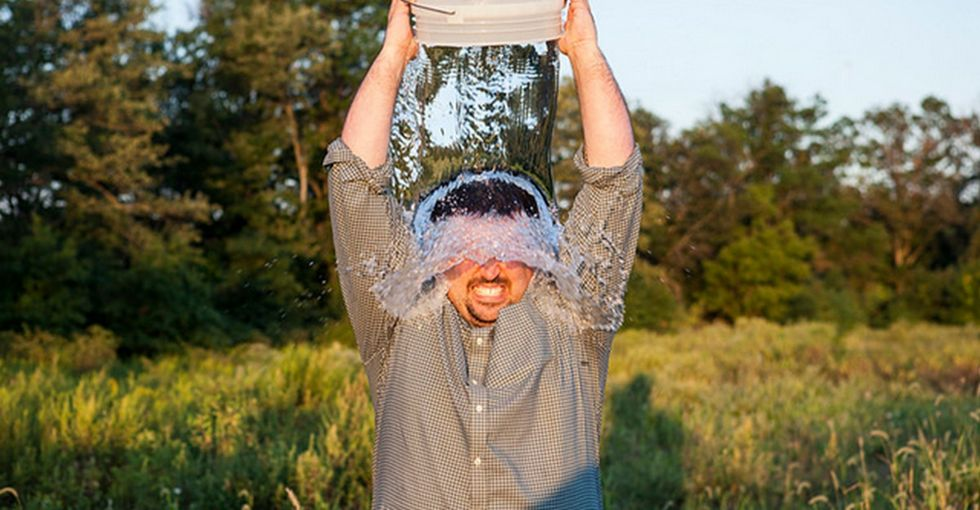 When A Golfer Dumped A Bucket Of Ice Water On His Head, I Bet He Didn't See This Coming
