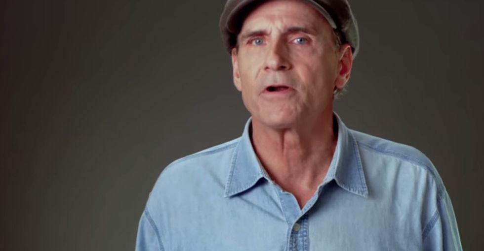 I Was So Happy To Hear From James Taylor Again. Until I Really Listened To What He Was Saying.