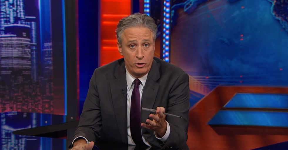 Some Folks Asked 'The Daily Show' To Not Air The Clip. They Aired It Anyway.